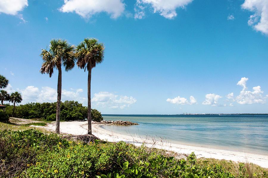 Seascape Photograph - Picnic Beach by Norman Johnson