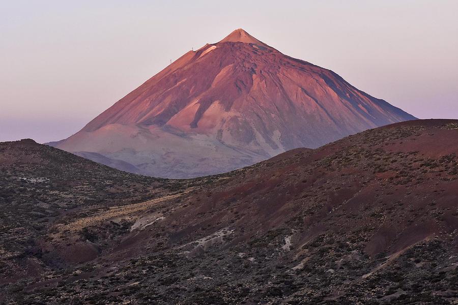 Mount Teide Photograph - Morning Volcano by Marek Stepan