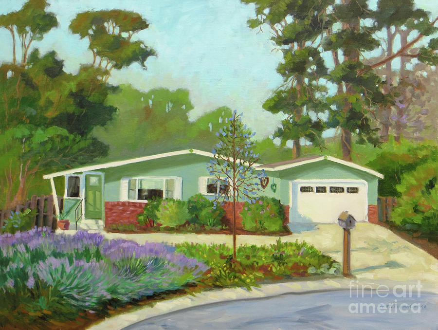 Pacific Grove Painting - Pico Place by Rhett Regina Owings