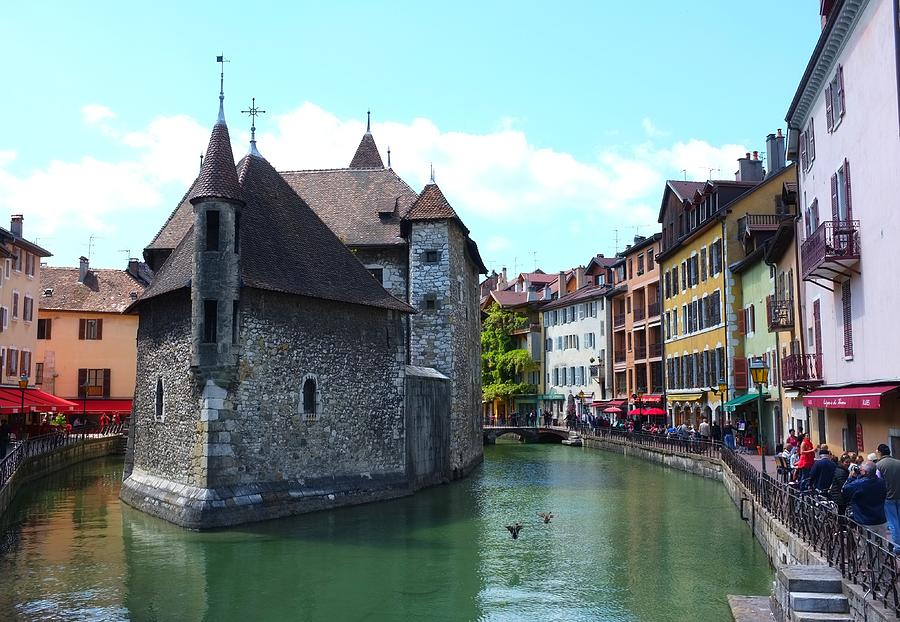 Annecy Photograph - Picturesque Annecy, France by Michael Lai