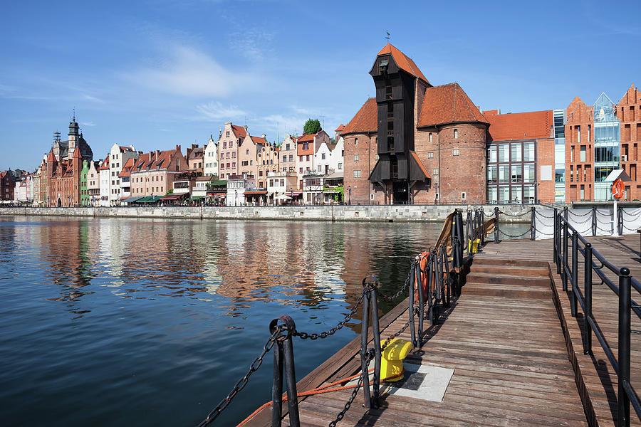 Gdansk Photograph - Picturesque City Of Gdansk In Poland by Artur Bogacki