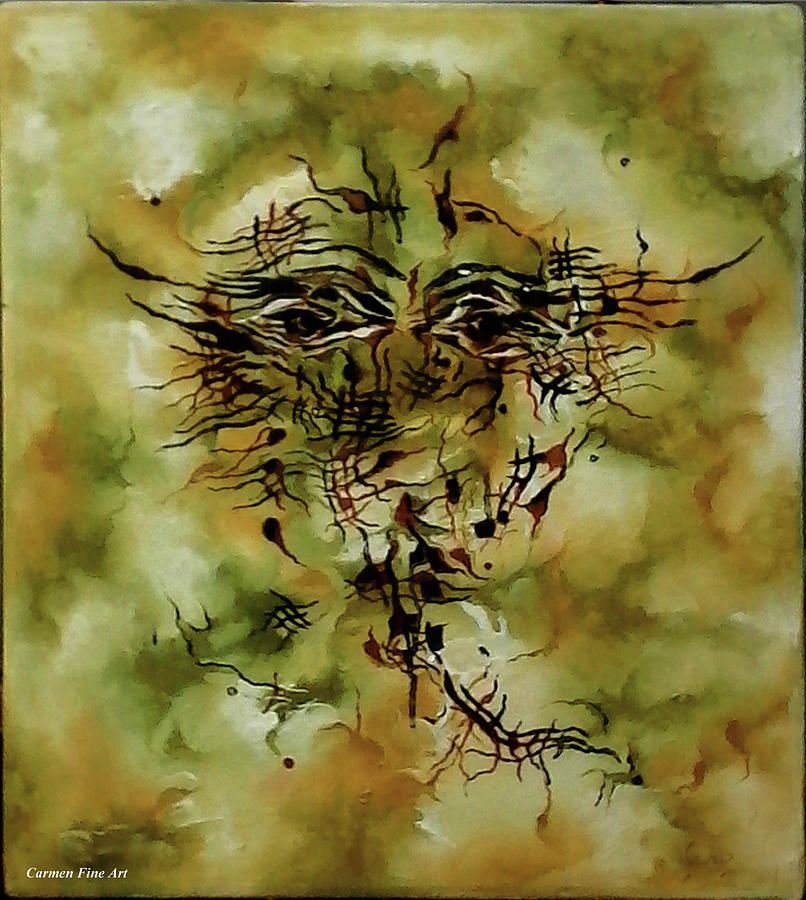 Oil Painting Painting - Piece With Spirit by Carmen Fine Art
