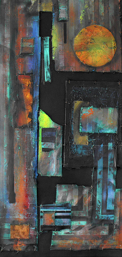 Mixed Media Painting - Pieces IIi by Ralph Levesque