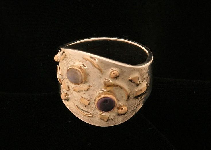 Pieces Ring Jewelry by Linda Bickel