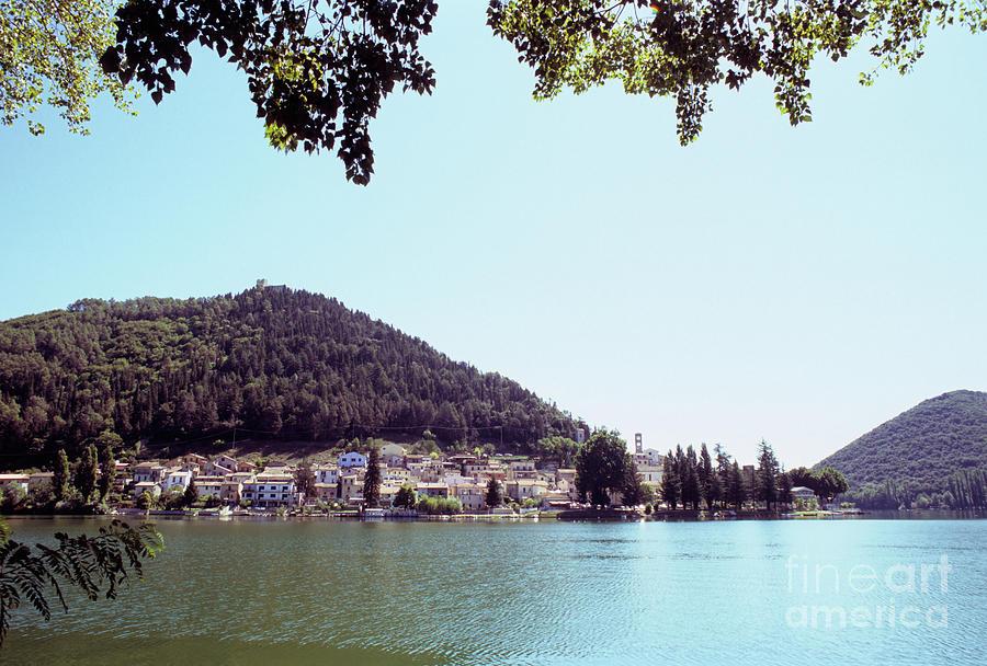 Piediluco and Piediluco Lake by Fabrizio Ruggeri