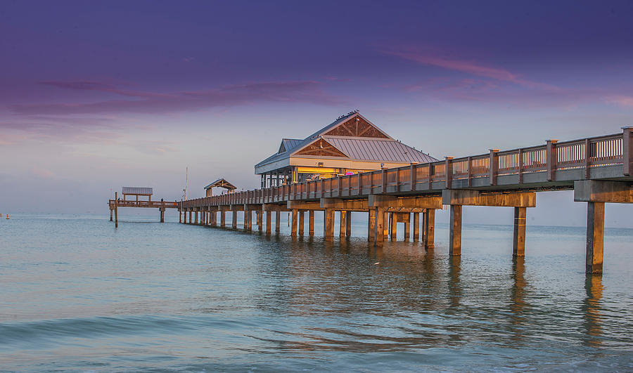 Clearwater Beach Photograph - Pier 60. Clearwater Beach by Todd Rogers