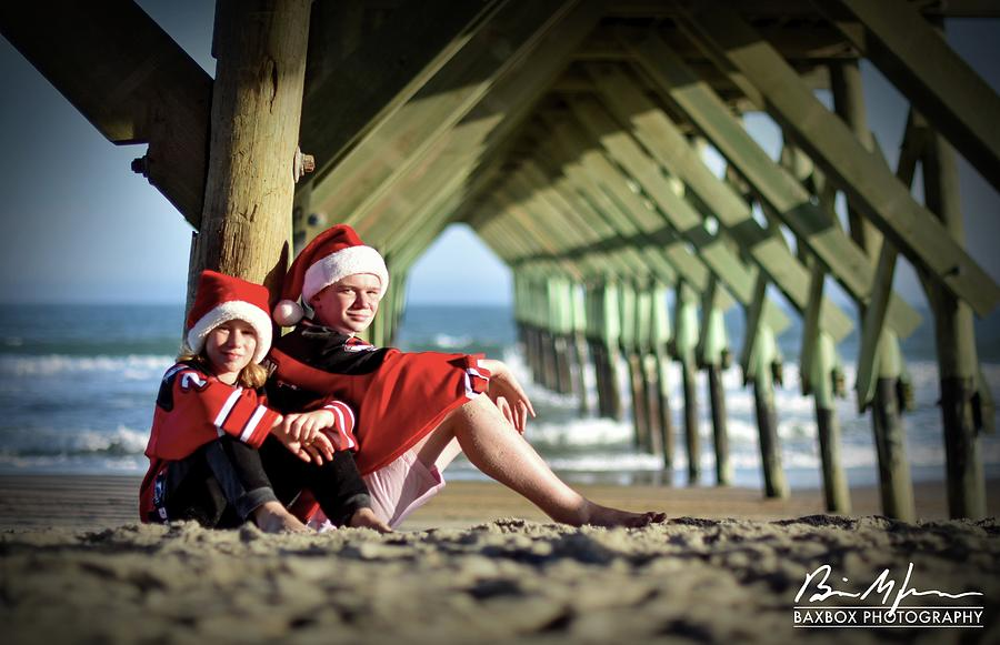 Pier Photograph by Brian Jones