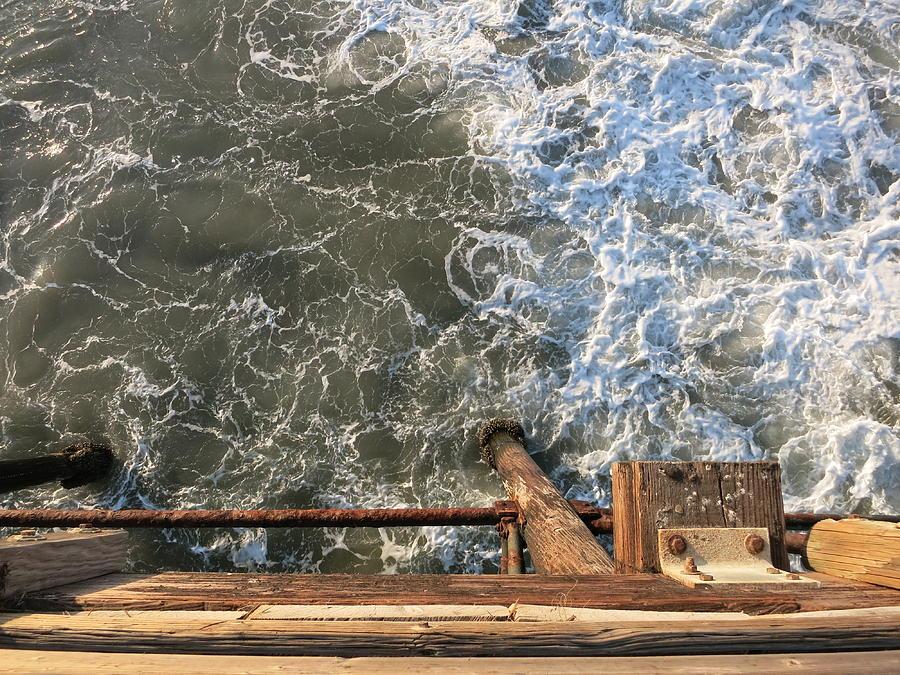 Pier Photograph - Pier by Cara Poalillo