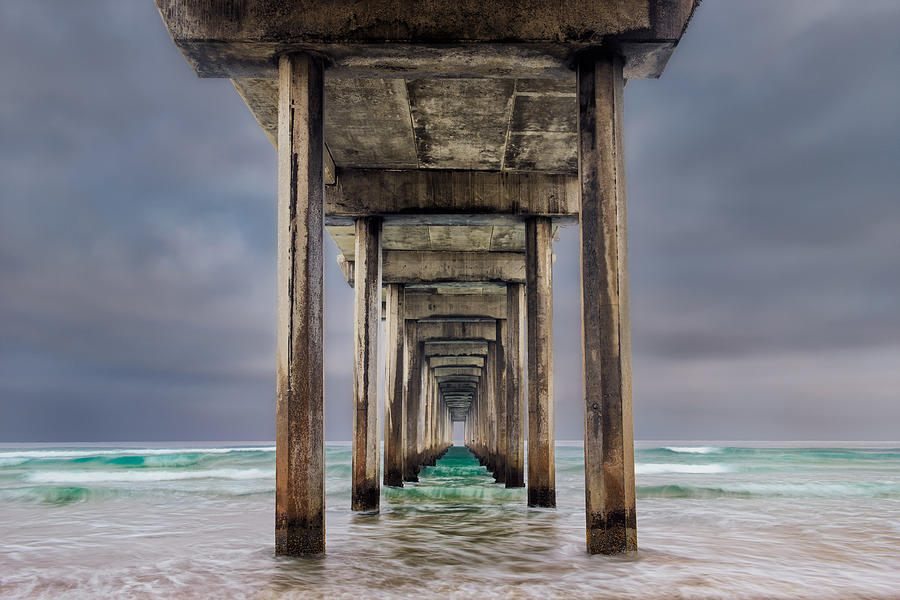 California Photograph - Pier by Doug Oglesby