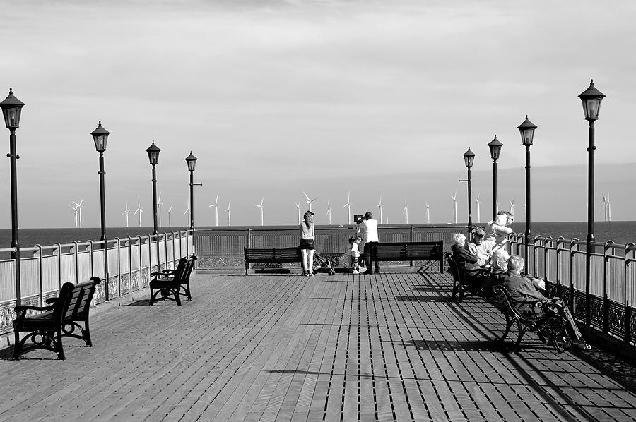 Skegness Photograph - Pier End View At Skegness by Rod Johnson