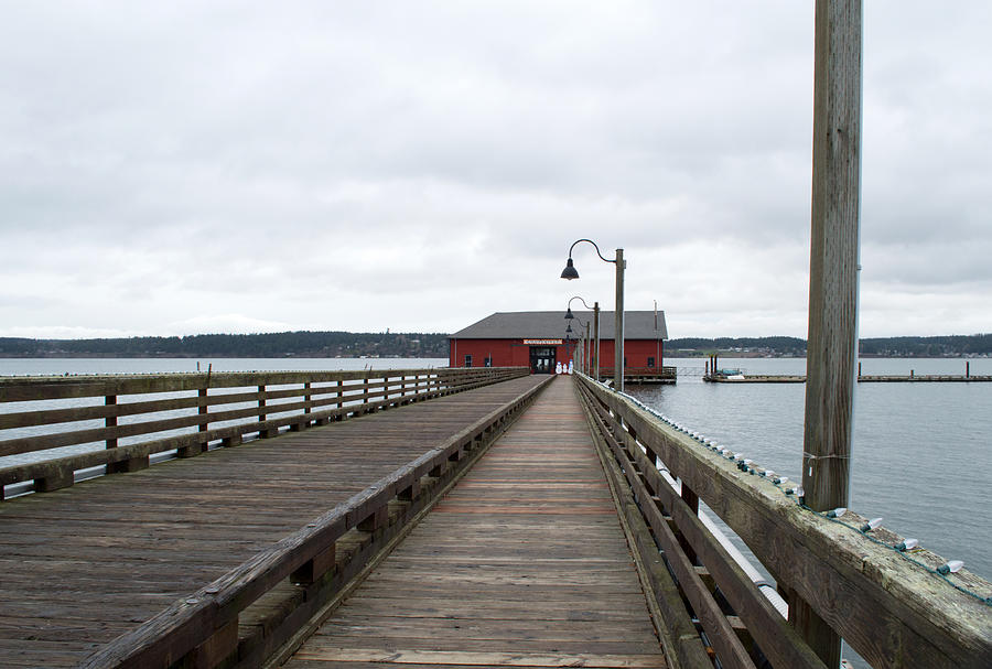 Pier In The Sound Photograph