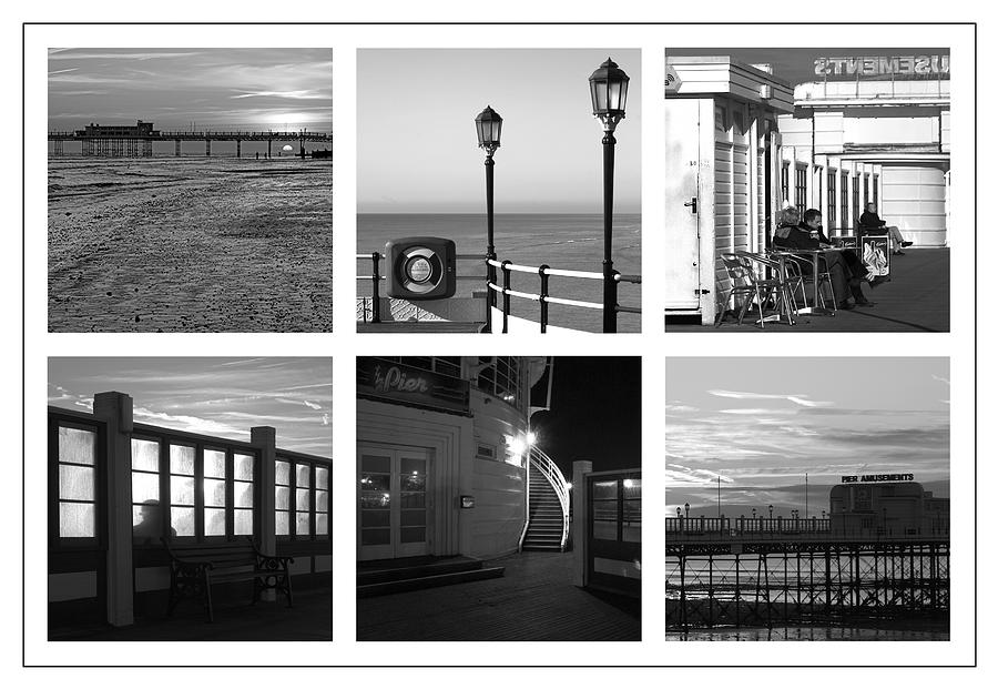 Pier Photograph - Pier Moods by Hazy Apple