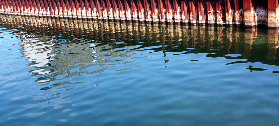 Reflections Photograph - Pier Reflections by Joanne Coyle