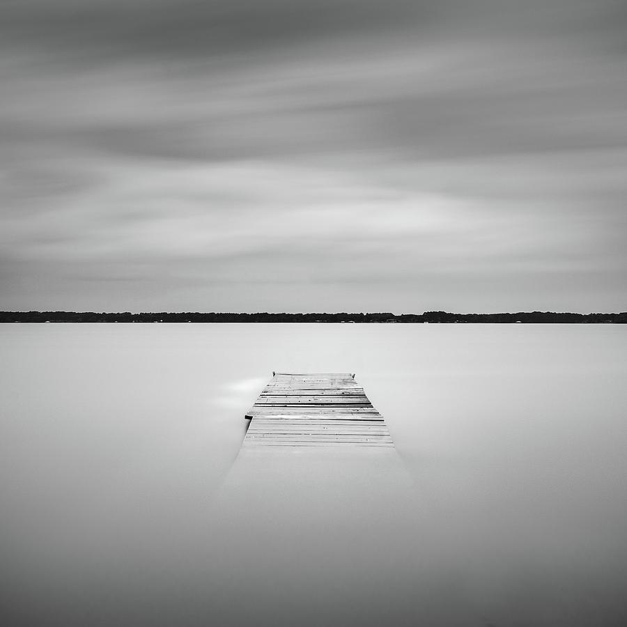 Pier Sinking Into The Water by Todd Aaron