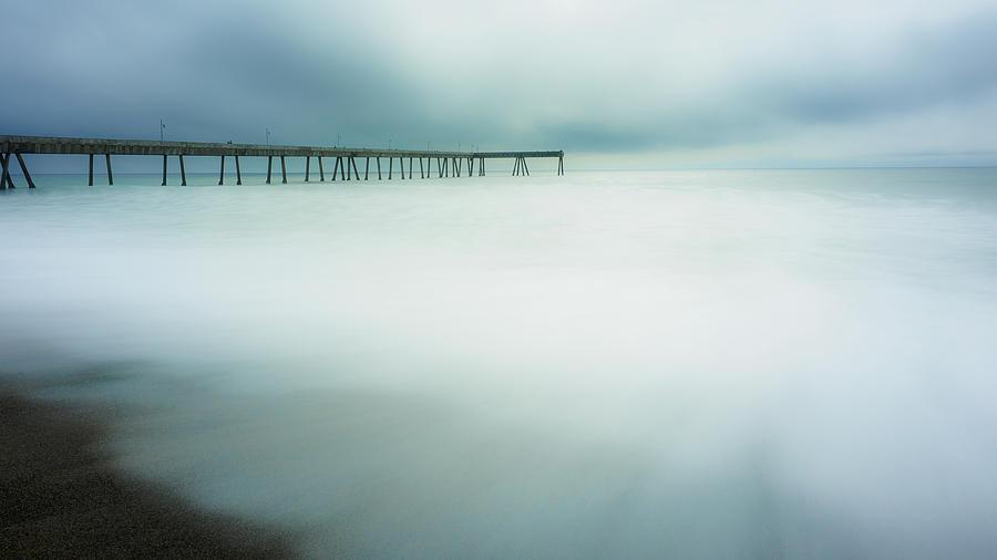 Pier Photograph - Pier by Steve Spiliotopoulos