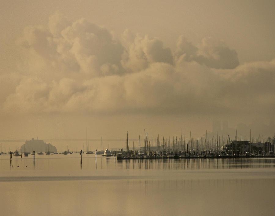 Sausalito Photograph - Pier by Vari Buendia