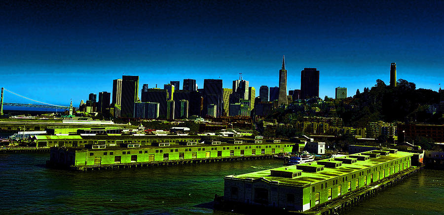 San Francisco Photograph - Piers Of San Francisco by Gerald Blaine