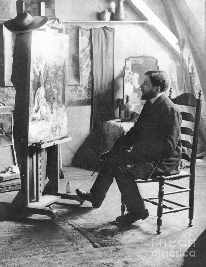 1905 Photograph - Piet Mondrian (1872-1944) by Granger