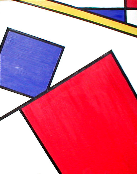 Piet Painting - Piet Mondrian by Beth Parrish