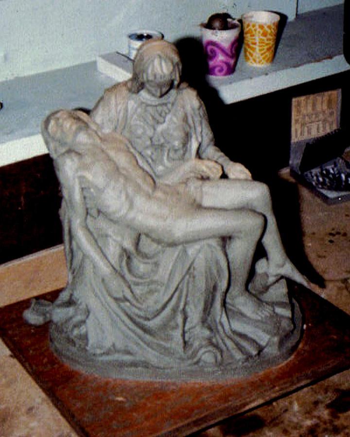 Michelangelo Sculpture - Pieta by Patrick RANKIN