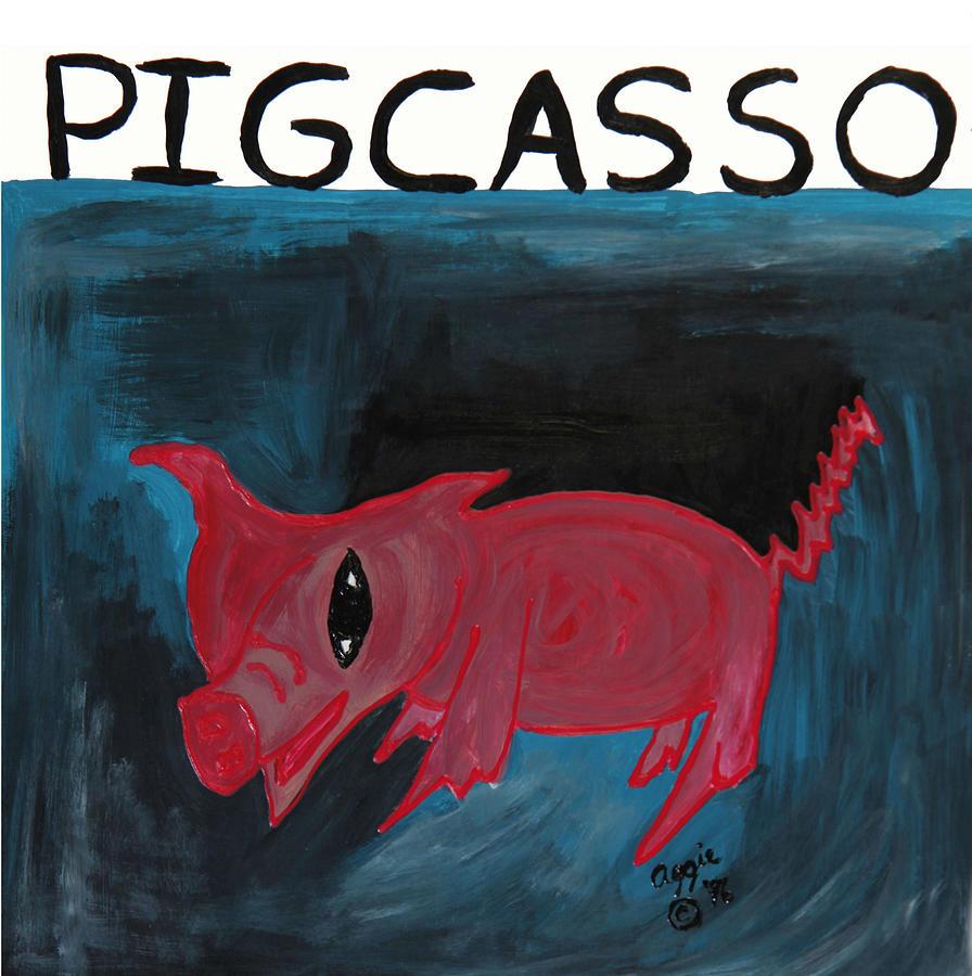 Pigcasso by Stephanie Agliano