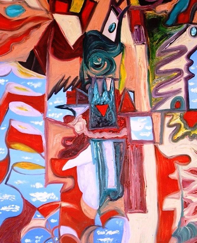 Pigeon Painting - Pigeon by Alfredo Dane Llana