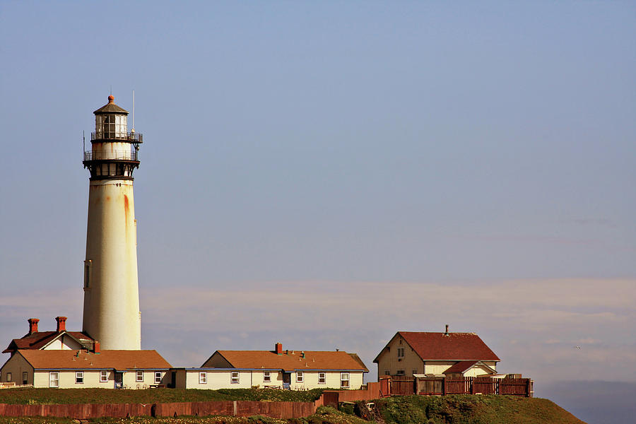 Pigeon Point Lighthouse Photograph - Pigeon Point Lighthouse On Californias Pacific Coast by Christine Till