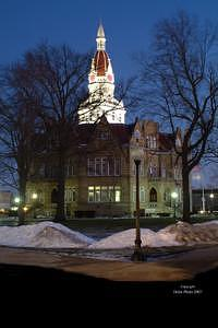 Building Photograph - Pike County Courthouse by Jim Helm