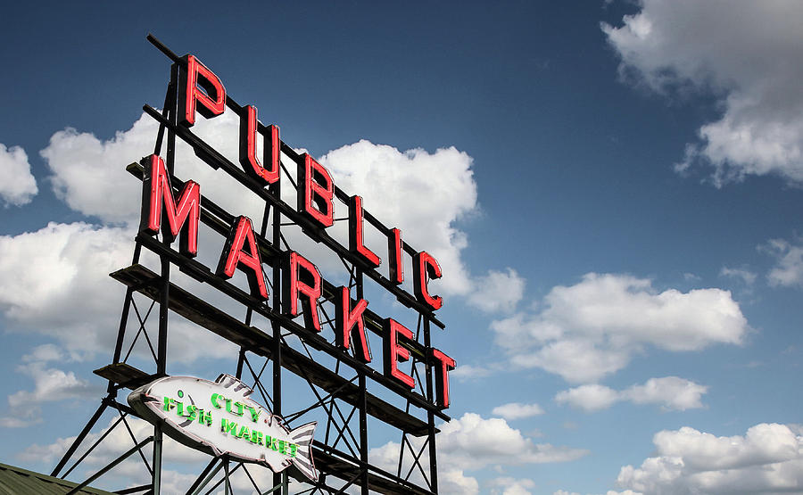 Pike Place Market by Ed Clark