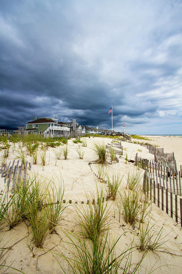Pike's Beach Stormy Sky by Robert Seifert