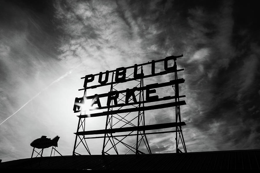 Pikes Market Sign by Rich Isaacman