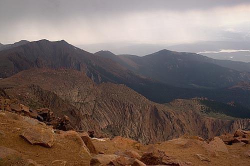 Pike's Peak Photograph - Pikes Peak - Colorado by Catherine Kelly