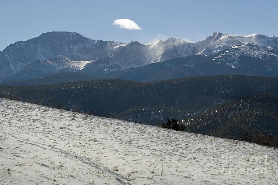 Pikes Peak After The Storm Photograph