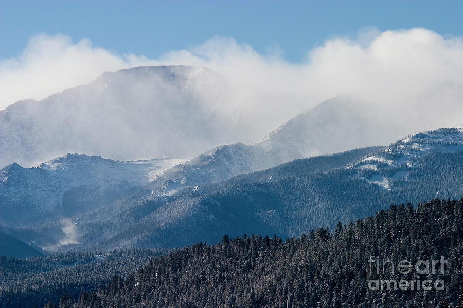 Pikes Peak Blizzard Photograph