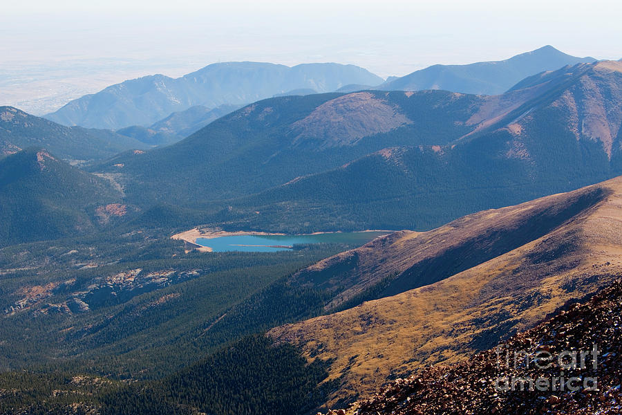 Pikes Peak Colorado Summit Photograph