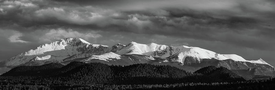 2017 Photograph - Pikes Peak Or Bust by Bridget Calip