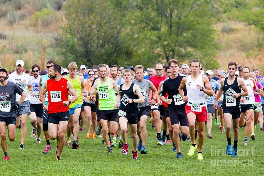Pikes Peak Road Runners Fall Series Race Photograph