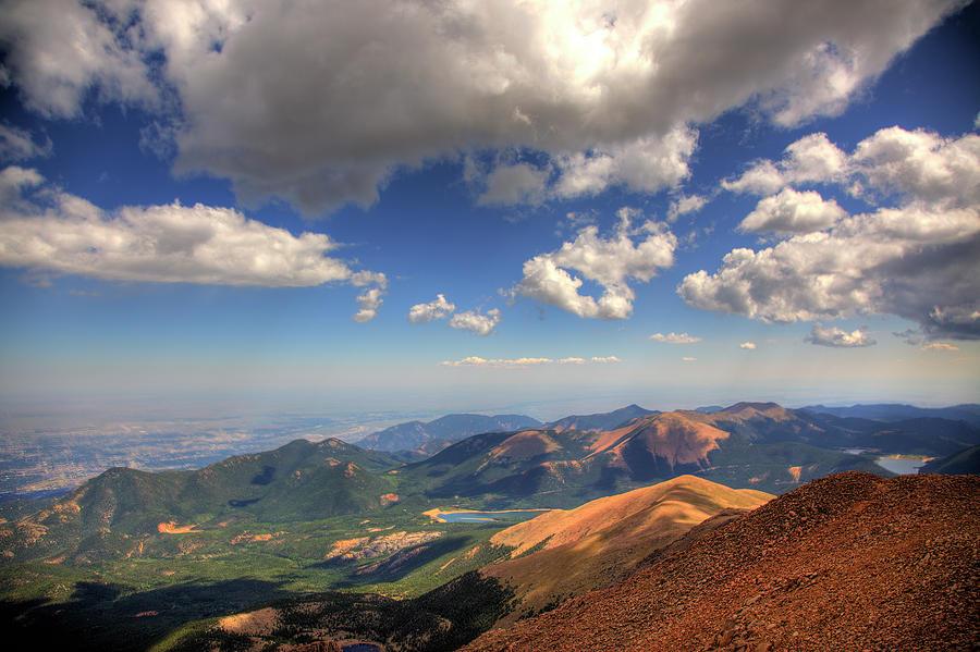 Pikes Peak Photograph - Pikes Peak Summit by Shawn Everhart