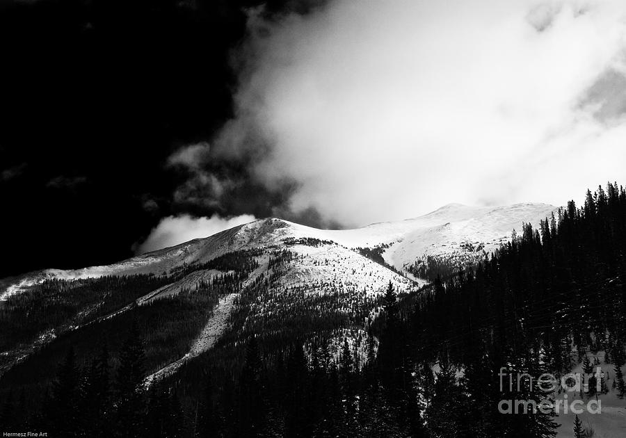 Landscape Photograph - Pikes Peak Western Slope by John Hermann