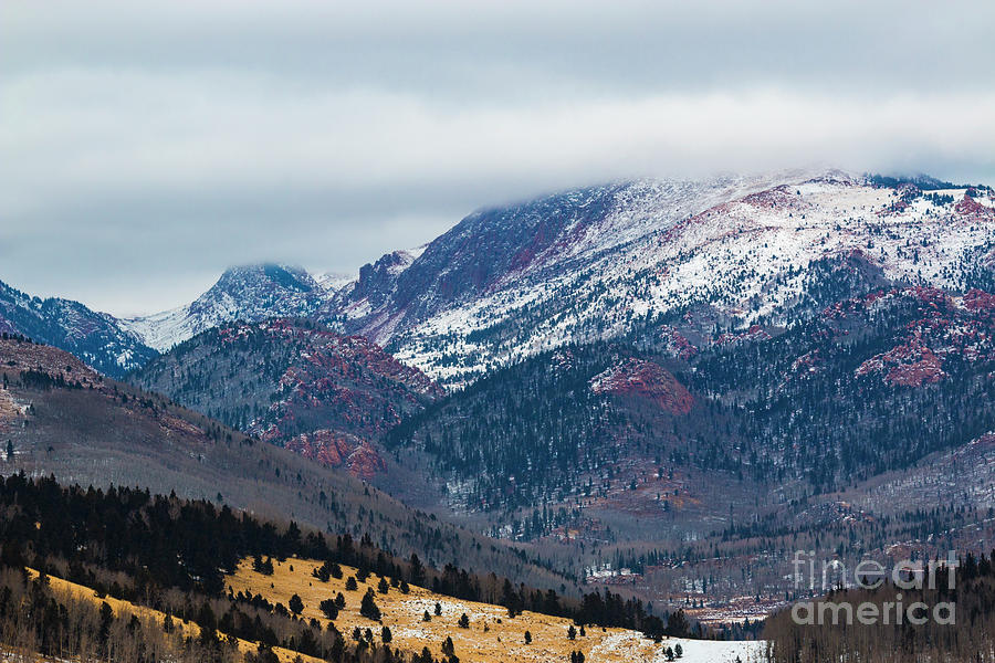 Pikes Peak Winter Serenity Photograph