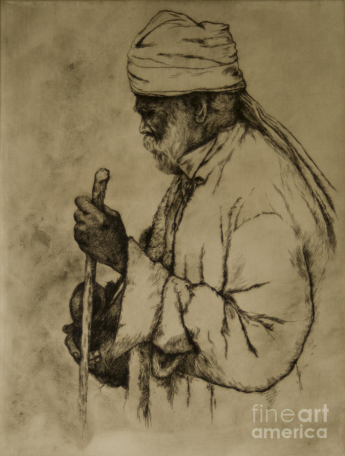 Goa Print - Pilgrim by Tim Thorpe