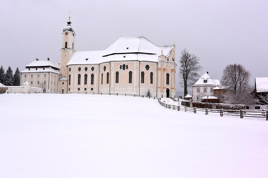 Church Photograph - Pilgrimage Church of Wies by Two Small Potatoes