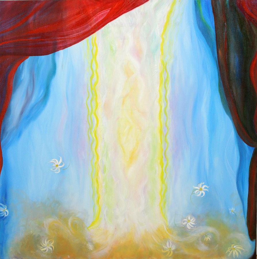 Biblical Painting - Pillar Of A Cloud by Anne Cameron Cutri
