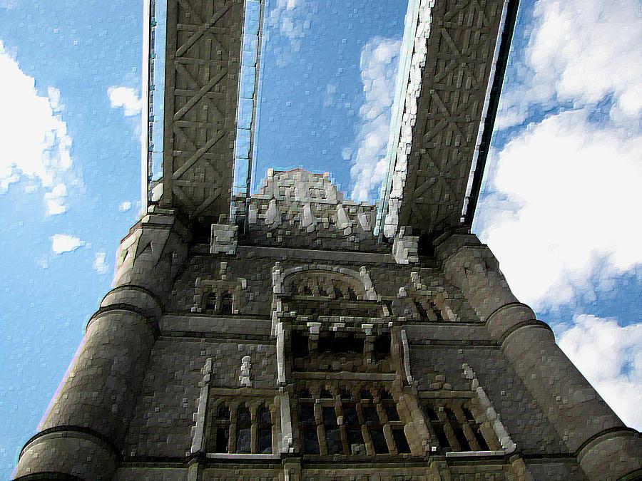 Pillar Of London Bridge Photograph