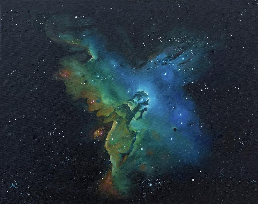 Pillars of Creation by Neslihan Ergul Colley