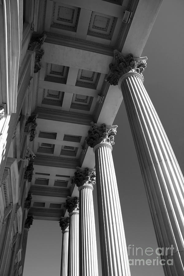 Pillars Photograph - Pillars by Wendy Mogul