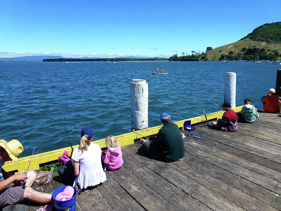 Pilot Bay 1 - Mount Maunganui Tauranga New Zealand by Selena Boron