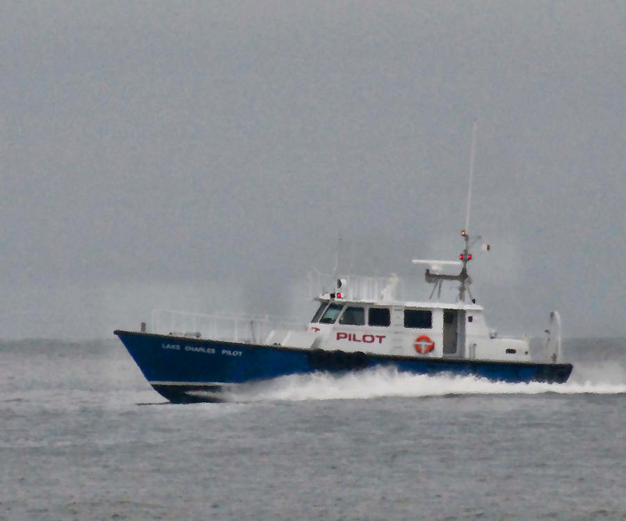 Boat Photograph - Pilot Boat by Bill Perry