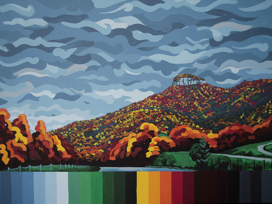 Pilot Mountain Fall by John Gibbs
