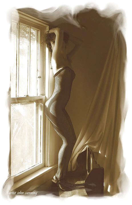 Figurative Photograph - Pin Up by John Canning